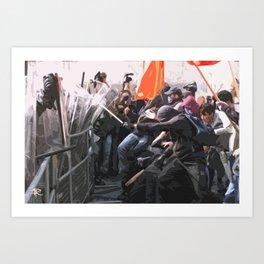 PROTESTS - 1 Art Print