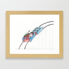 First Date Framed Art Print