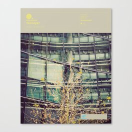 The Visual Mixtape 2010 | All Hour Cymbals | 21 / 25 Canvas Print