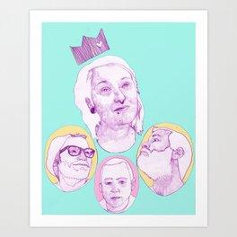Becky  Art Print