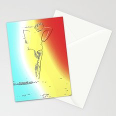 Woman Emerging (f) Stationery Cards
