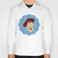 toy story Hoodies featuring Woody - Toy Story by Kuki