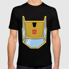 Transformers - Sunstreaker Black MEDIUM Mens Fitted Tee