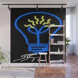 light bulb Wall Mural