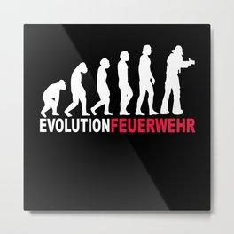 Evolution Fire Brigade Metal Print