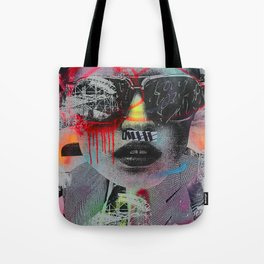 Graffiti Wall NYC Tote Bag