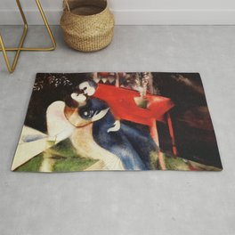 Marc Chagall The Lovers Rug