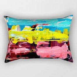 Color Abstract 4 Rectangular Pillow