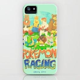 Pokémon Racing iPhone Case