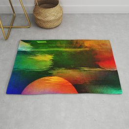 Multicolored abstract 2016 / 003 Rug