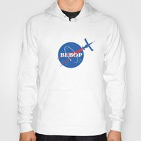 bebop Hoodies featuring Bebop Nasa by AngoldArts