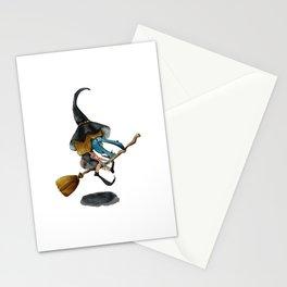Broom Broom, Baby Stationery Cards