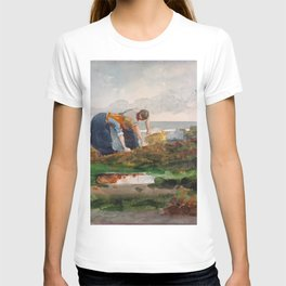 12,000pixel-500dpi - Winslow Homer1 - The Mussel Gatherers - Digital Remastered Edition T-shirt