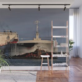 Freighter St. Clair Wall Mural