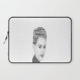 Miley Bangerz Album lyrics design Laptop Sleeve