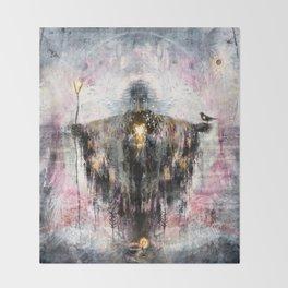 Geclipian - invocation Throw Blanket