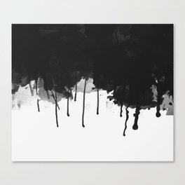 Spilled Ink Canvas Print