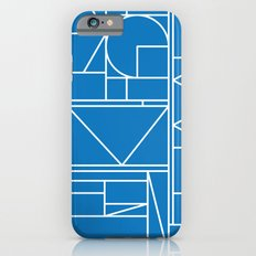 Kaku Blue 2 iPhone 6s Slim Case