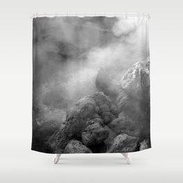 Furnas hotsprings Shower Curtain