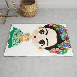 Frida Cartoon Rug