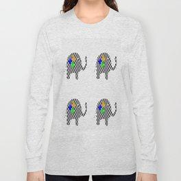Stampede Of Elephants Long Sleeve T-shirt