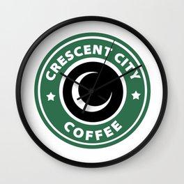 Crescent City Coffee Wall Clock