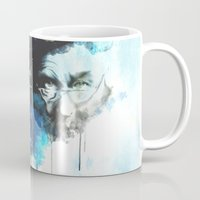 dumbledore Mugs featuring Dumbledore by Rose's Creation