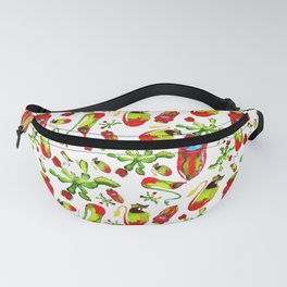 watercolor illustration Fanny Pack