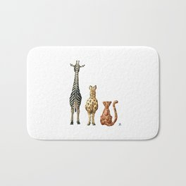 Be Wildly Different Bath Mat