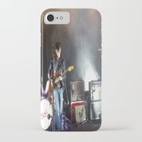 arctic monkeys iPhone & iPod Cases featuring Arctic Monkeys in Brooklyn, New York by The Electric Blue / YenHsiang Liang