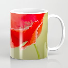 Miss you so much Red Poppy #decor #society6 Coffee Mug