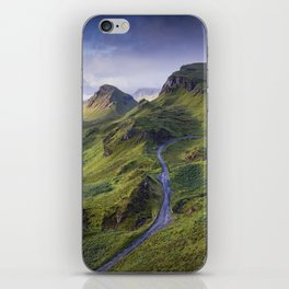 The Road to the Quiraing iPhone Skin