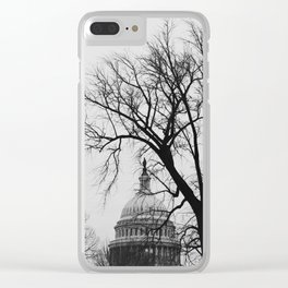 US Capitol Building Clear iPhone Case