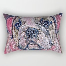 GlitzyAnimal_Dog_007_by_JAMColors Rectangular Pillow