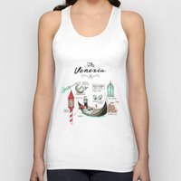 venice Tank Tops featuring Venice by Volha