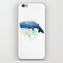 Power swimmer of the oceans iPhone Skin