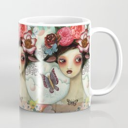 Bathing Beauty by CJ Metzger Coffee Mug