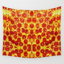 Pizza Art Wall Tapestry