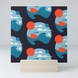 Pencil Scapes 8 Mini Art Print