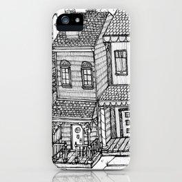 Row Houses iPhone Case