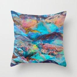Opal Terrain Throw Pillow