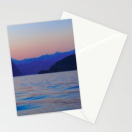 View of Lago d'Iseo | Lago d'Iseo Italy travel photography | Sunset Art Print Stationery Cards