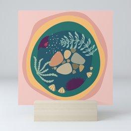 tide pool 1 Mini Art Print