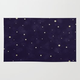 Starlit night Rug