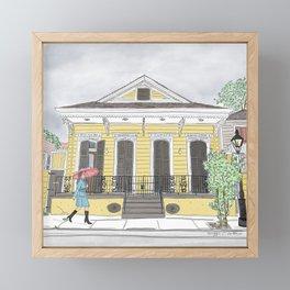 Ursulines Walk Framed Mini Art Print