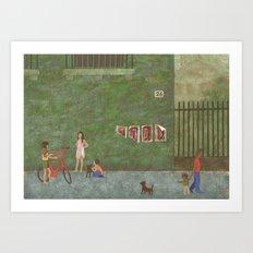 Street (Rue) Art Print