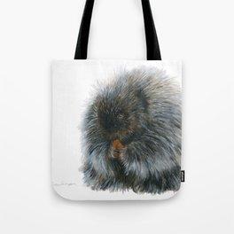 Vinnie the Porcupine by Teresa Thompson Tote Bag