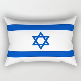 Flag of the State of Israel - High Quality Image Rectangular Pillow