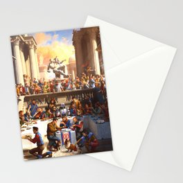 Once upon a time Poster Logic Stationery Cards
