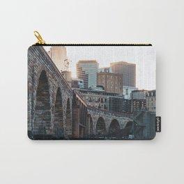 Minneapolis Minnesota Skyline Sunset Carry-All Pouch
